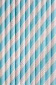 Background or pattern of spotted drinking paper straws — Stock Photo