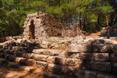The ruins of the ancient city of Phaselis — Stock Photo