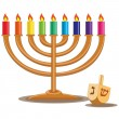 hanukkah — Stock Vector