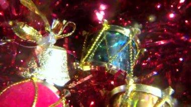 Рождественские украшения — Стоковое видео