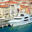 Stock Photo: Luxurious yacht in Venice