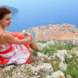 Girl in Dubrovnik - Foto de Stock