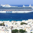 Stock Photo: Cruise ship in Mediterranean