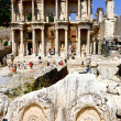 Ephesus and the Library of Celsus — 图库照片