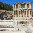 Ephesus and the Library of Celsus — Stok fotoğraf