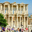 Ephesus and the Library of Celsus — Zdjęcie stockowe