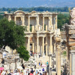 Ephesus and the Library of Celsus — Lizenzfreies Foto