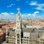 Marienplatz in Munich, Germany — Stock Photo