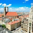 Stock Photo: Marienplatz in Munich, Germany