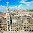 Marienplatz in Munich, Germany — Stock Photo