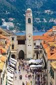 Stradun street in Dubrovnik — Stockfoto