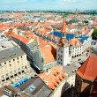 Orange roofs of Munich — Stock Photo