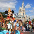 Stock Photo: Mickey Mouse in Magic Kingdom, Orlando