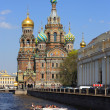 Church on Spilled Blood in Saint Petersburg — Stock Photo