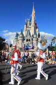 Musical parade in Magic Kingdom in Orlando — Stock Photo