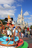 Mickey Mouse in Magic Kingdom, Orlando — Stock fotografie