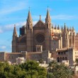 La Seu cathedral in Palma de Majorca — Stock Photo
