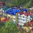 Stock Photo: Colorful houses in Kiev