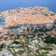 Orange roofs of Dubrovnik — Stock Photo