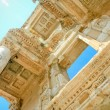 The library of Celsus in Ephesus — Foto de Stock