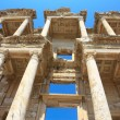 The library of Celsus in Ephesus — 图库照片