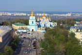 Saint Michael's cathedral in Kiev — Stock Photo