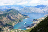 Beautiful Kotor bay — Stock Photo