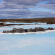 Blue Lagoon geothermal spa in Iceland — Stock Photo