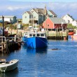 Stock Photo: Peggy's Cove fishing village in NovScotia