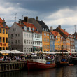 Nyhavn waterfront in Copenhagen — Stock Photo