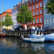 Colorful Copenhagen — Stock Photo