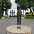 Holodomor memorial to the victims of starvation in Kiev — Stock Photo