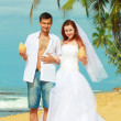 Beach wedding — Stockfoto