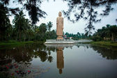 Tsunami 2004 memorial in Sri Lanka — Stock Photo