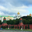 Kremlin and Russian Presidential Palace in Moscow — Stock Photo