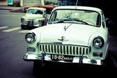 Old soviet car Volga — Stock Photo