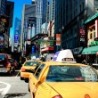 New York city yellow cabs — Stock Photo