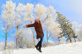 Gioia invernale — Foto Stock
