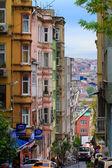 Narrow Istanbul streets — Stock Photo