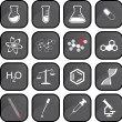 Stock Photo: Chemistry icons