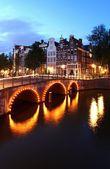 Evening Amsterdam — Stock Photo