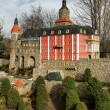 Stock Photo: Ksiaz castle miniature