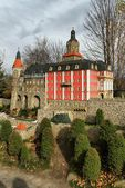 Miniatura do castelo de ksiaz — Foto Stock