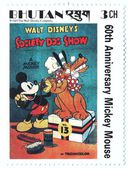 Mickey Mouse stamp — Stock Photo