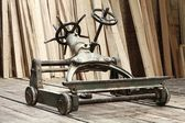 Cart in joinery — Stock Photo