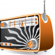 Vintage Radio — Stock Vector