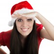 Christmas Girl Scouting — Stock Photo