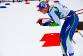 Finn skier - Ski orienteering world cup 2014 — Stock Photo
