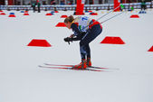 Norwegian skier - Ski orienteering world cup 2014 — Stock Photo