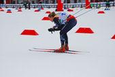 Norwegian skier - Ski orienteering world cup 2014 — Stock Photo